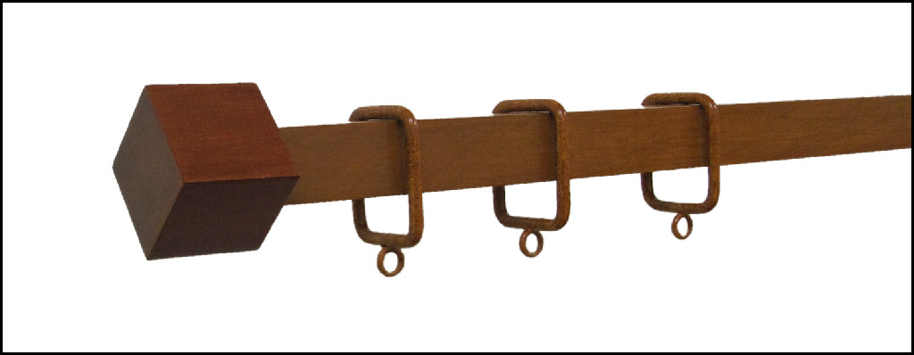 Custom Drapery Rods | Bamboo Curtain Rod | Window Hardware|