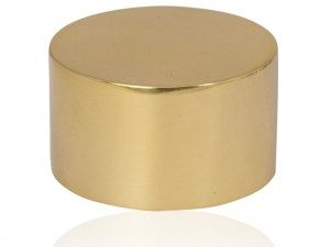 Polished Brass End Cap