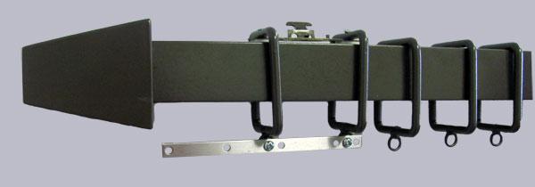 Square Ring Travers. Double Traversing Rod