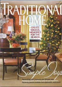 Traditional Home Magazine, Holiday 2008
