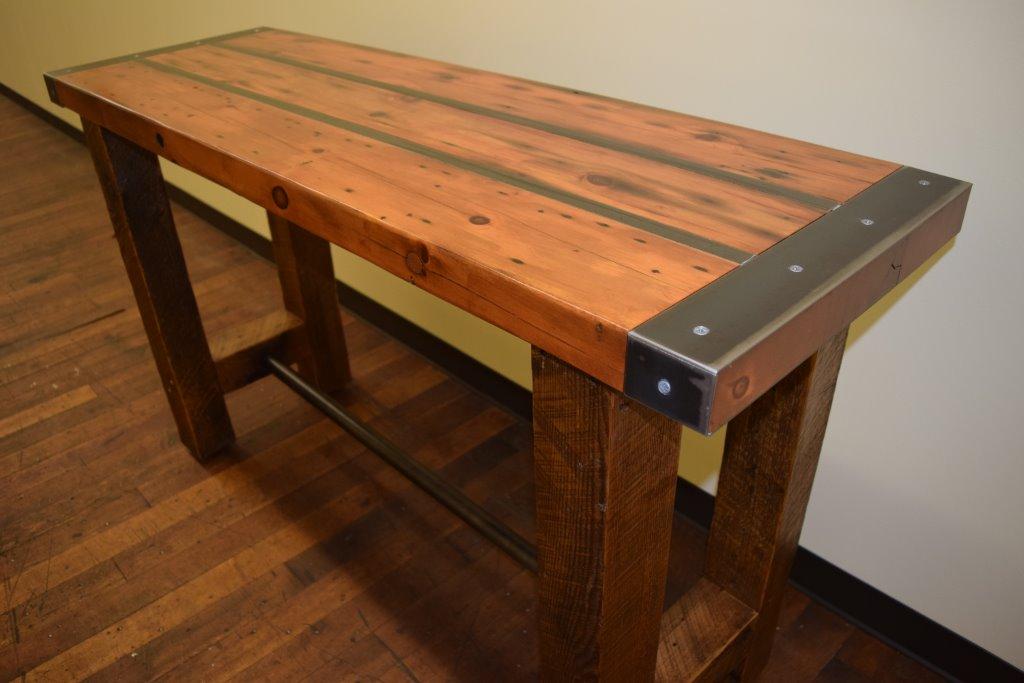 \ Ship Door\  Table. \u201c & Reclaimed Wood and Metal Furniture