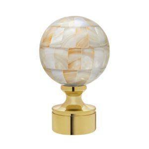 Shell Ball Finial