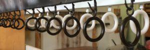Custom Drapery Rings