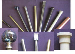 Metal Drapery Rods